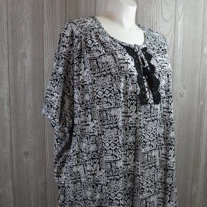 NWT Catherines Blouse Top BBW SUPER PLUS SIZE 5X